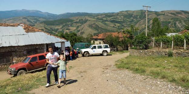 Vizitë në fshatin malor të Kriçkovës