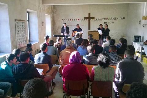 Gottesdienst in Buzaishte