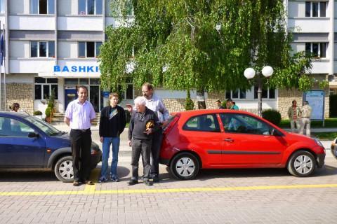 Übergabe von Fahrzeugen für die Stadtpolizei Pogradec