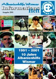 Albanienheft 2001