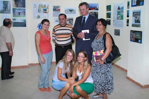 Der deutsche Botschafter Bernd Borchardt auf der Festveranstaltung des CHW in Tirana