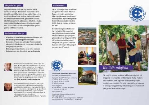 CHW-Verteilprospekt albanisch