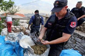 Polizeieinsatz in Lazarat