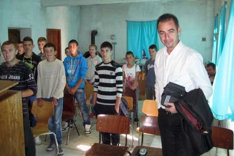 Jugendgottesdienst in Buzaishtë