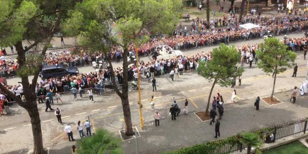 Papstbesuch in Tirana