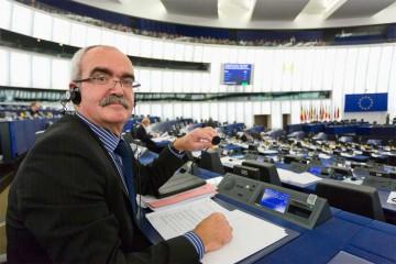 Werner Kuhn im Europaparlament