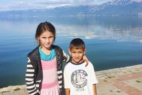 Für Maria (9) und ihren Bruder Andrea (7) ist das brutale Erlebnis sehr schwer zu verarbeiten