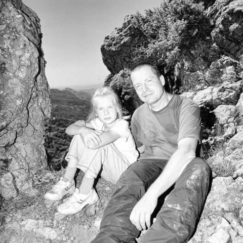 Ole Dost mit Tochter Friederike