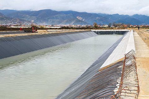 Die Pogradecer Kläranlage verbessert die Umweltsituation am Ohridsee