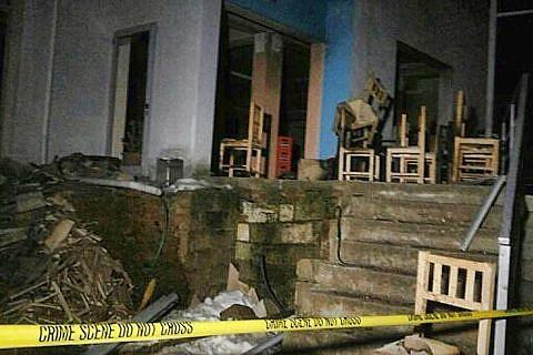 Gastank-Explosion in Dardhas