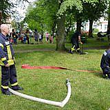 Auch die Feuerwehr war präsent