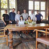 Gruppenbild mit Bürgermeister Volker Haack