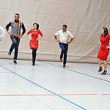 Abends zeigten die Gäste albanische Tänze …