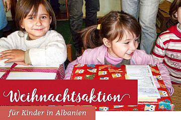 Weihnachtsaktion für Kinder in Albanien