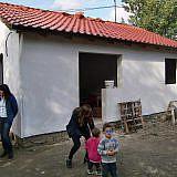 ... bauen die DA und Helfer aus Holland ein neues Wohnhaus
