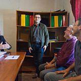Besuch bei Administrator Valter Gjona ...