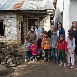 Die Familie und die Nachbarn sind dankbar für die Hilfe