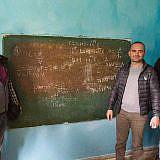 Besuch in der Schule von Velçan