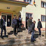 Besichtigung der renovierten Schule von Proptisht