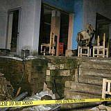 Gastank-Explosion in einem Café in Dardhas