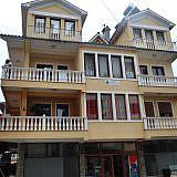 Startpunkt ist unsere Büro-Wohnung in Pogradec