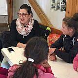 In den Gesprächen wird die Entwicklung der Kinder begleitet