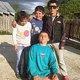 Die vier Hoxha-Waisen leben komplett im Internat