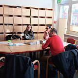 Besuch im städtischen Pflegezentrum Ahsbahs-Stift