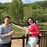 Diola Malasi kommt zweimal im Monat nach Bishnica