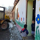 Tag 3: Vor dem Kindergarten in Grunjas