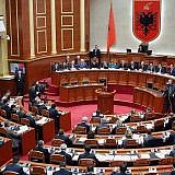 Sitzung des Albanischen Parlaments