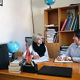 Interview mit Rapça Tahire, Direktorin der 9-jährigen Schule in Bishnica