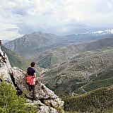 Wilde Berglandschaften, touristisch unerschlossen