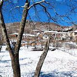 Im Winter sind die Dörfer gelegentlich abgeschnitten