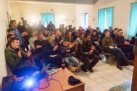 Februar: Gottesdienste in Buzaishtë und Bishnica