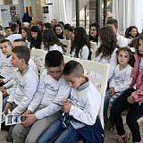 Auch die Kinder und Mitarbeiter aus dem Internat Bishnica waren gekommen