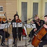 Musikalische Eröffnung durch das Streicherquartett aus Tirana