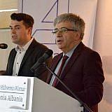 Mustafa Zabzuni, Bürgermeister der Nachbarstadt Struga, Mazedonien