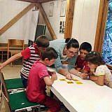 Die Waisenkinder werden besonders betreut