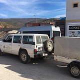 In Pogradec kommt der Diakonia-Transporter dazu