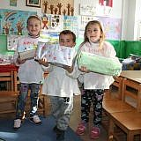 In der Schule von Rrodokal i Sipër