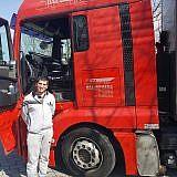 Stjepan bei der Abfahrt in Wismar …
