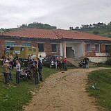 Familienpakete verteilen in Losnik