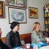 Gespräche mit Zivka Angelovska, Ratspräsidentin von Ohrid
