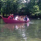 Bootsfahrt auf dem Drilon-See