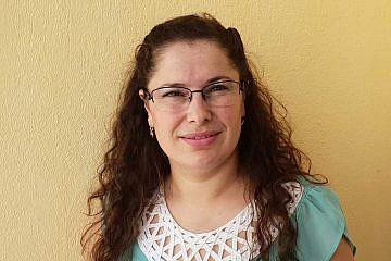 Valbona Balla, die neue Leiterin des Internats in Bishnica