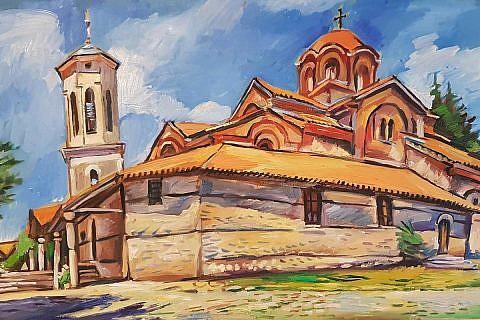 Kirche der Heiligen Gottesmutter Peribleptos, Ohrid