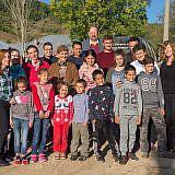 Gruppenbild mit den Kindern