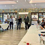 Am 4. Oktober dann die Begrüßung zur DA-Konferenz in Librazhd