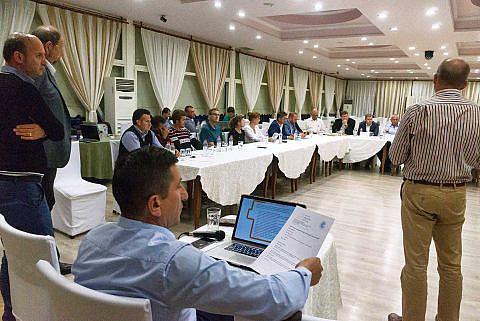 Diskussionsrunde auf der Diakonia-Konferenz